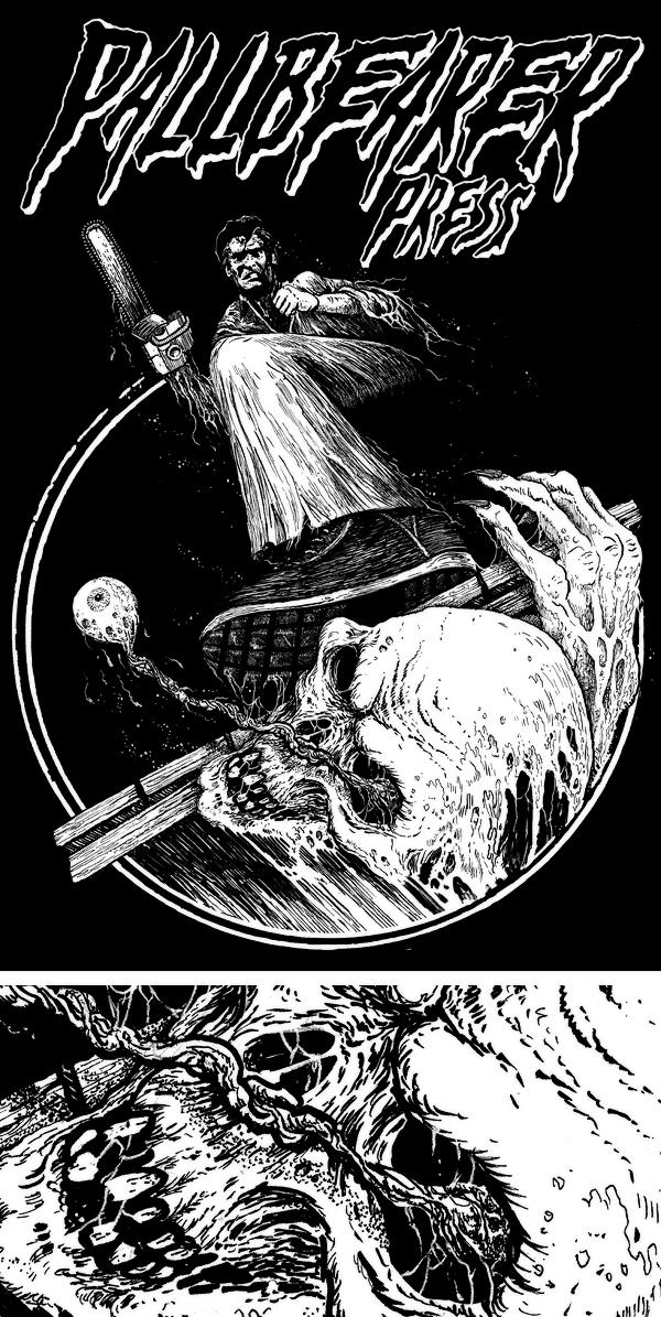 PALLBEARER PRESS_Riddick_Evil Dead_Logo