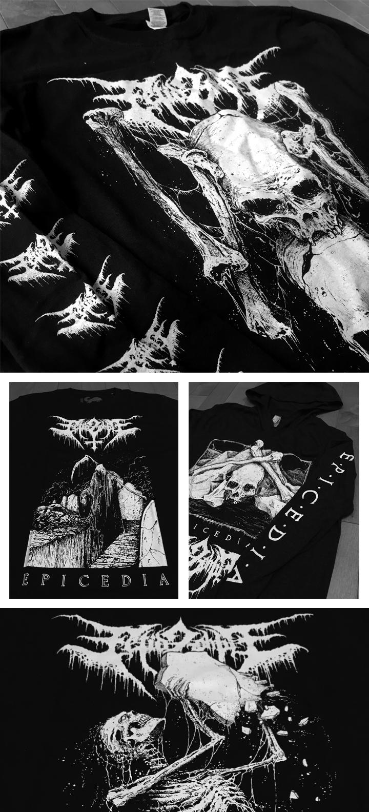 2017_FETID ZOMBIE_Shirts